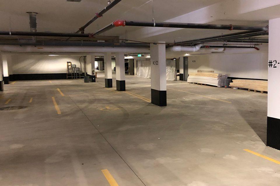 Flortek Parkade Flooring