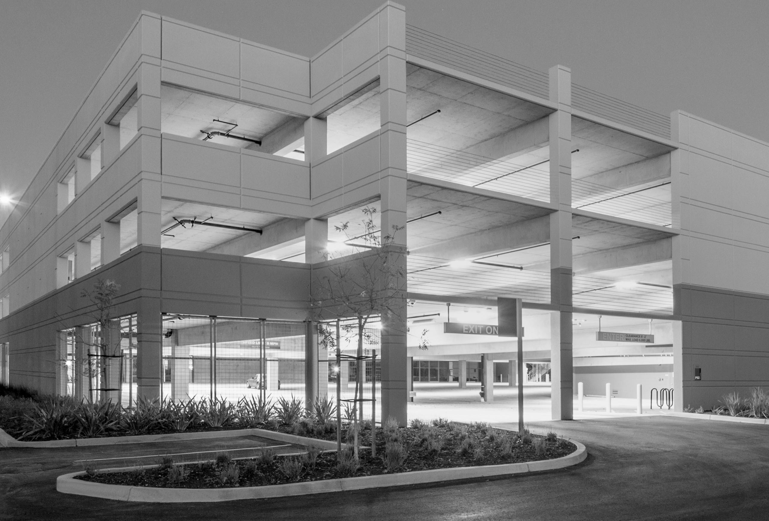 parking garage concrete maintenance