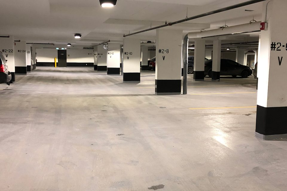 Flortek Parkade Floor
